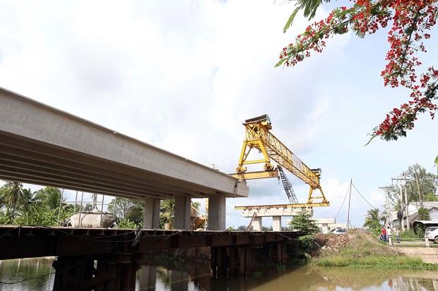 Dự án Đầu tư xây dựng tuyến Lộ Tẻ - Rạch Sỏi:  Khó khăn trong bố trí  nguồn vốn làm chậm tiến độ