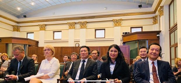 Tổng Kiểm toán Nhà nước Hồ Đức Phớc tham dự Hội thảo quốc tế lần thứ 7 về tính liêm chính tại Hungary