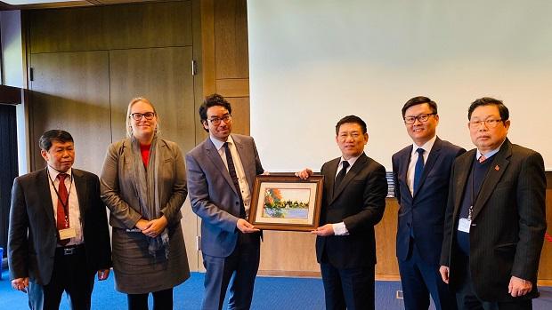 Tăng cường hợp tác giữa KTNN Việt Nam và Cơ quan hợp tác phát triển Đức (GIZ)
