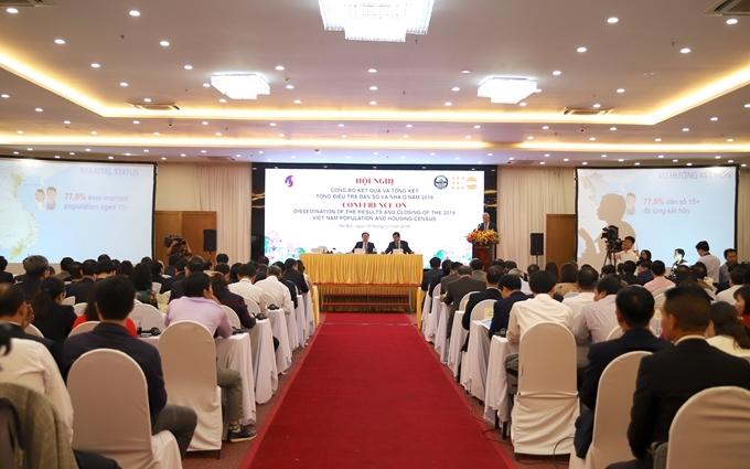 Dân số Việt Nam tăng 10,4 triệu người trong 10 năm