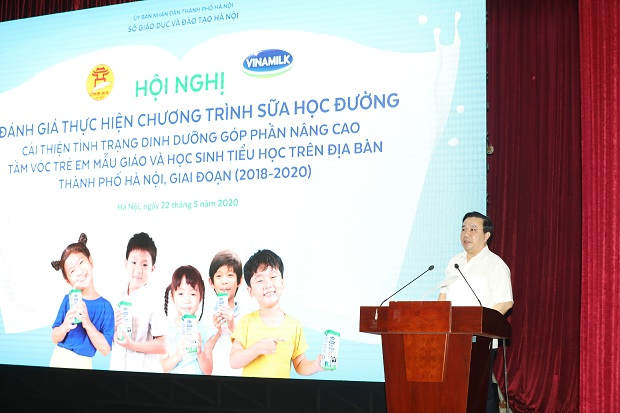 Hà Nội tổ chức đánh giá hiệu quả đề án sữa học đường giai đoạn 2018-2020