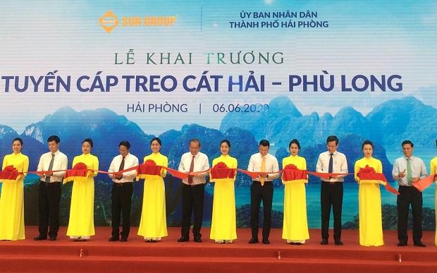 Phó Thủ tướng Thường trực dự khai trương một số công trình tại Hải Phòng