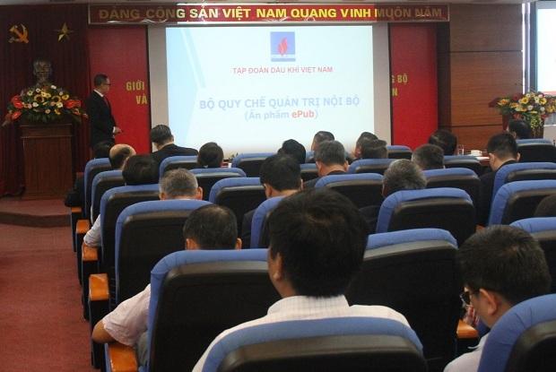 PVN công bố Bộ quy chế quản trị nội bộ theo dạng sách điện tử
