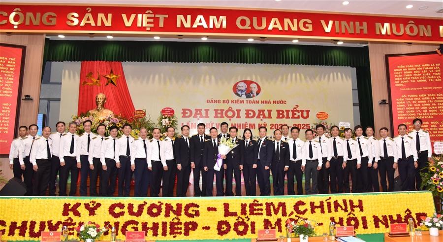 Đại hội Đại biểu Đảng bộ Kiểm toán Nhà nước lần thứ VII thành công tốt đẹp