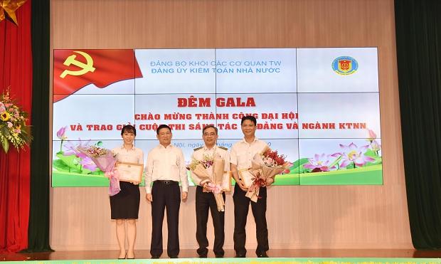Gala chào mừng thành công Đại hội và trao giải Cuộc thi Sáng tác về Đảng và ngành KTNN