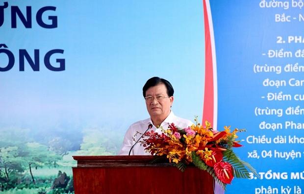 Khởi công dự án thành phần cao tốc Bắc Nam, đoạn Vĩnh Hảo-Phan Thiết