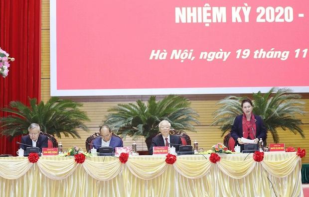 Hội nghị tổng kết công tác tổ chức đại hội đảng bộ các cấp