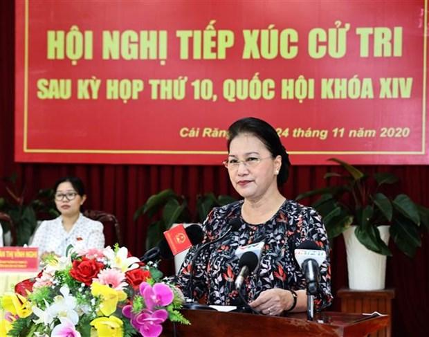 Chủ tịch Quốc hội: Nông thôn Việt Nam là tiền đề cho phát triển KT-XH