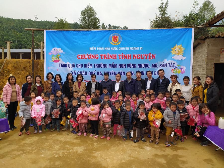 KTNN chuyên ngành VI tổ chức chương trình thiện nguyện tại xã Châu Quế Hạ, huyện Văn Yên, tỉnh Yên Bái