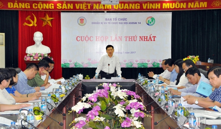 Cuộc họp lần thứ nhất Ban Tổ chức Đại hội Asosai 14