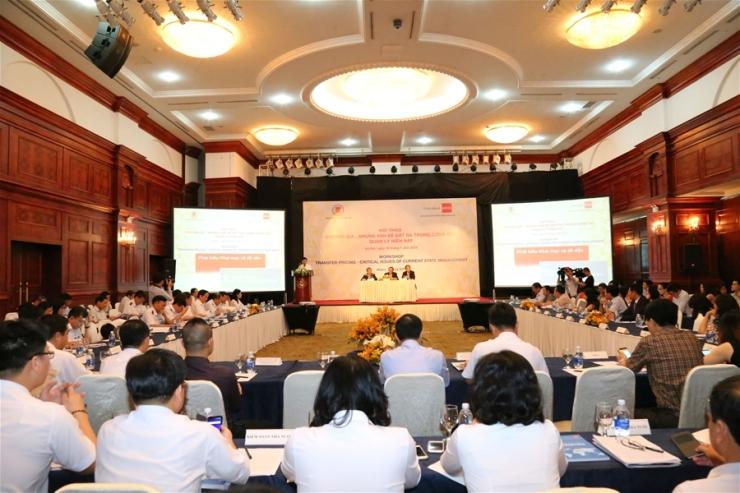 """Hội thảo quốc tế """"Chuyển giá - Những vấn đề đặt ra trong công tác quản lý hiện nay"""""""