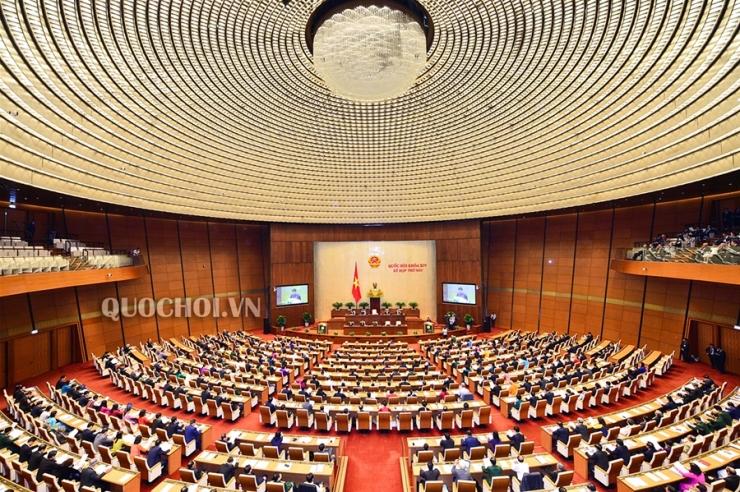 Kỳ họp thứ 6, Quốc hội Khoá XIV