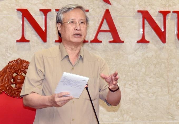 Ủy viên Bộ Chính trị, Thường trực Ban Bí thư Trần Quốc Vượng thăm và làm việc với KTNN