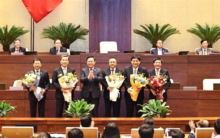 Ông Trần Sỹ Thanh được Quốc hội bầu giữ chức Tổng Kiểm toán Nhà nước