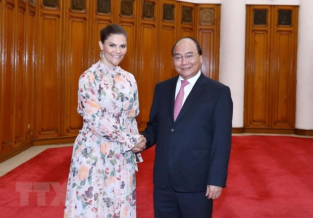 Thu tuong Chinh phu Nguyen Xuan Phuc tiep Cong chua ke vi Thuy Dien hinh anh 1