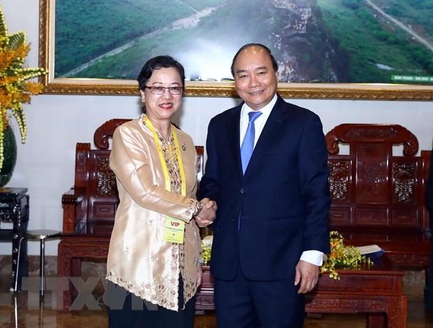 Thu tuong Nguyen Xuan Phuc tiep Pho Tong Thu ky Lien hop quoc hinh anh 1